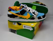 A pair of as new Nike SB Dunk Low Pro Chunky Dunky trainers (UK 12).