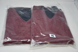 Four as new Casa Moda jumpers (XL, 2XL, 3XL, 4XL - RRP £54 each).