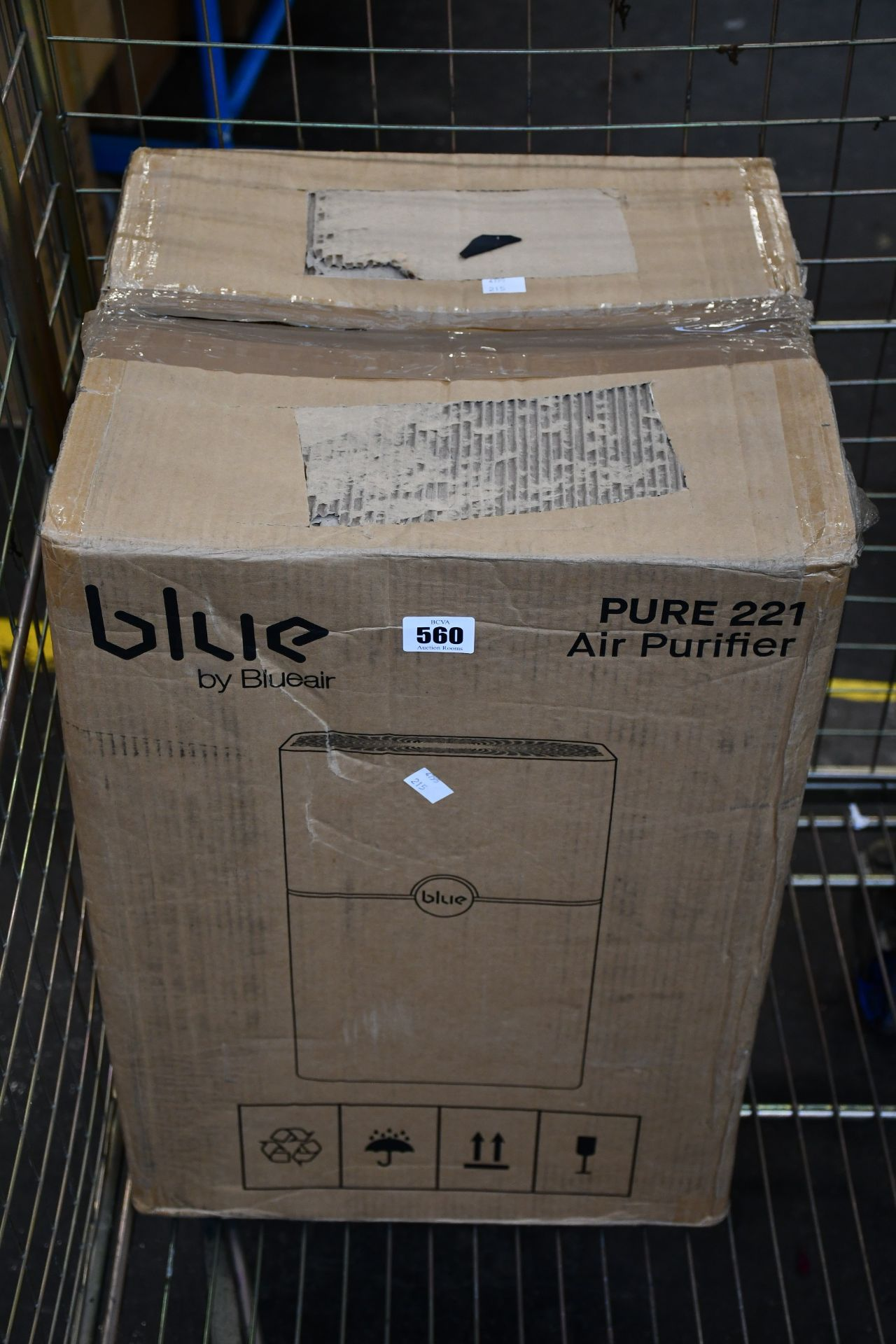One boxed as new Blue Air Blue Pure 221 air purifier.