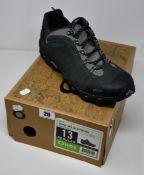 A pair of as new Oboz Bridger Low B-Dry waterproof hiking shoes (UK 12 - RRP £135).