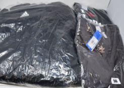 An as new Adidas Core 18 Stadium jacket (15-16 years), Adidas BT T-shirt (UK 10) and Adidas Love