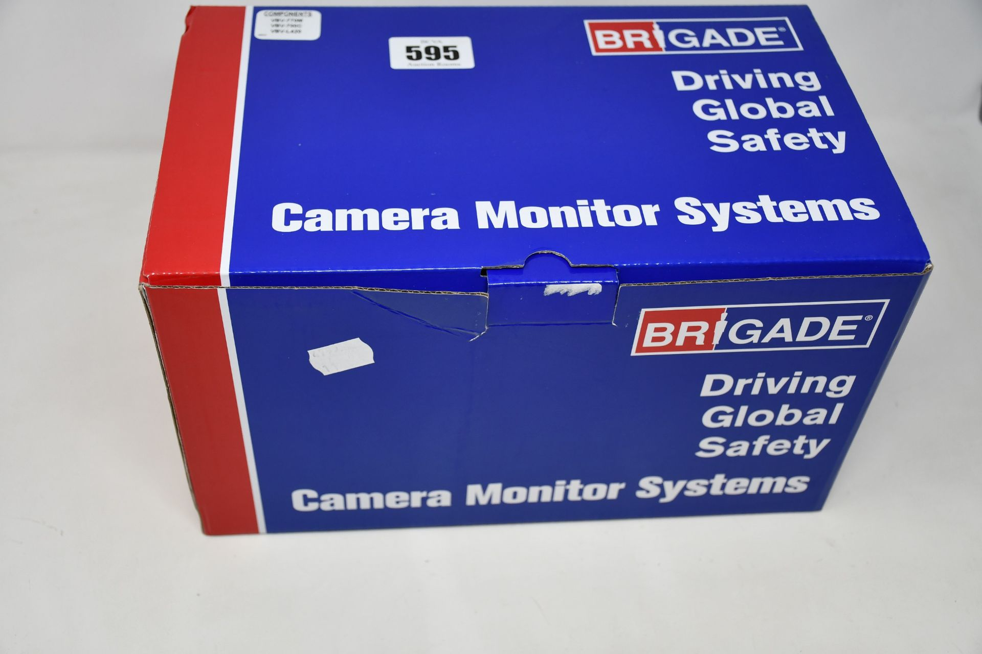 """A boxed as new Brigade VBV-770-000 Backeye Select Camera System (7"""" Monitor / 1x Camera / 1x 20m"""