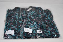 Five as new -bl^nk- Sophia shirts (XS, S, 2 x M, L).