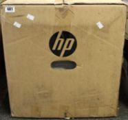 COLLECTION ONLY: A boxed as new HP LaserJet Enterprise M608n B&W Laser Printer (M/N: K0Q17A#B19) (