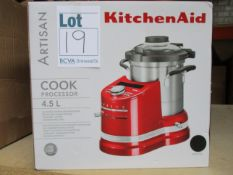 One boxed KitchenAid Artisan (5KCF0104BBK) Cook Processor 4.5L.
