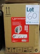 A boxed Rothenberger ROREC CFC-HCFC-HFC Refrigerant Portable Recovery Unit (R16860516).