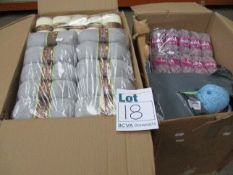 A quantity of Stylecraft assorted colours knitting/Crochet wool to include 4ply (Approximately 160