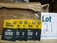 A quantity of Liquid Beer Finings essentials for making perfect clear beer (20ml sachets