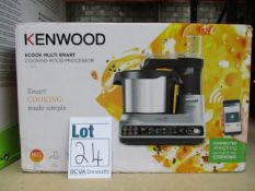 A boxed as new Kenwood kCook Multi Smart cooking food processor (CCL450SI).