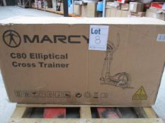 A boxed as new Marcy C80 Elliptical Cross Trainer.