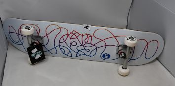 Two as new Jart Telesketch 8.0? complete skateboards (Has minor scratches).