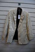 An as new By Malene Birger Alvesia blazer (Size 44 - RRP £204).