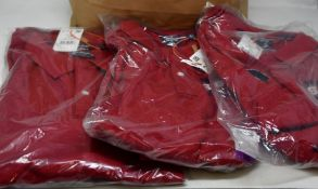 Seven as new Superdry Superstate polo shirts (3 x L, 1 x XL, 2 x XXL, 1 x XXXL - RRP 340 each).