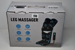 A boxed as new Nobebird Leg Massager (FE-7204A).