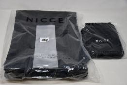 Three as new Nicce Voyager backpacks (RRP £35 each) together with three Nicce Remi bags (RRP £20