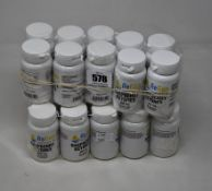Twenty ReGen Healthcare Raspberry Ketones 400mg food supplements (30 capsules each, Exp: 03/2023).