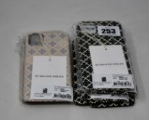 Eleven as new By Malene Birger Pamsy iPhone 11 covers (RRP £25 each).