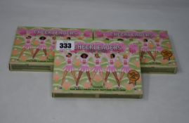 Five as new Benefit Cheekleaders 'Pink Squad' makeup palettes.