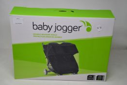 Four boxed as new Baby Jogger City Mini 2 double weather shield.