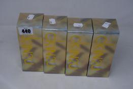 Four Calvin Klein CKIN2U eau de toilette for her (150ml).