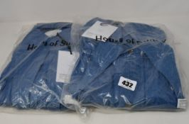 Two as new House of Sunny Western full length shackets (UK 6 - RRP £75 each).