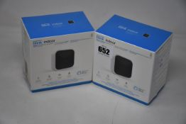 Two boxed as new Blink Indoor smart security camera systems.
