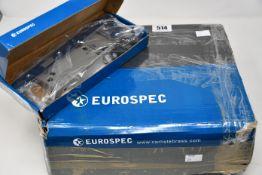 Ten boxed as new EuroSpec DIN latch Lock mechanism, Satin Grey.