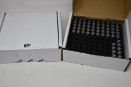 One hundred and fifty nine boxed as new Pankl Carrillo rod bolts for use in motorsport engines (