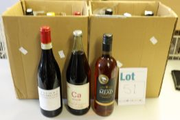 A quantity of assorted wine and related items to include Chateau Haut-Marbuzet 2014, Giacomo