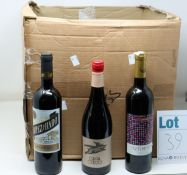 A quantity of assorted wine to include Chateau La Christophe Saint-Emilion Grand Cru, Intimista