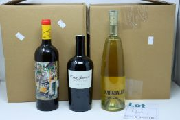 A quantity of assorted wine and related items to include La Ina Fino sherry, Taylors vintage port,