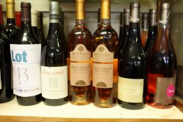 A quantity of miscellaneous wines and related to include Rousseau Anjou Villages Bonnes Blanches and