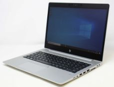 """A boxed as new HP EliteBook 745 G6 14"""" IPS FHD Laptop in Silver with Ryzen 5 Pro 3500U with Radeon"""