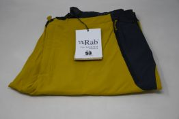 Two pairs of as new Rab Torque pants (XL, XXL - RRP £85 each).