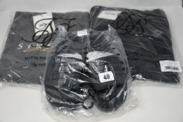 As new Silk Silk clothing and accessories; fitted signature track pants (S - RRP £45), advanced tech