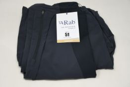 Two pairs of as new Rab Torque pants (M - RRP £85 each).