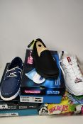 Three pairs of women's as new Skechers; On The Go Glide Ultra Cruising (UK 7 - Squashed box), Energy