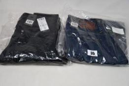 Four pairs of as new G-Star Raw jeans (W24/L30, 3 x W26 L 2 x 30, 1 x 32).