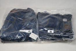 Four pairs of as new G Star Raw jeans (W27/L30, W29/L32, W31/L30, W35/L30).
