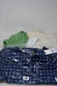 Two as new Simonett Nanu knitted bralette crop top (Size S/M - RRP £55 each), a Scotch & Soda