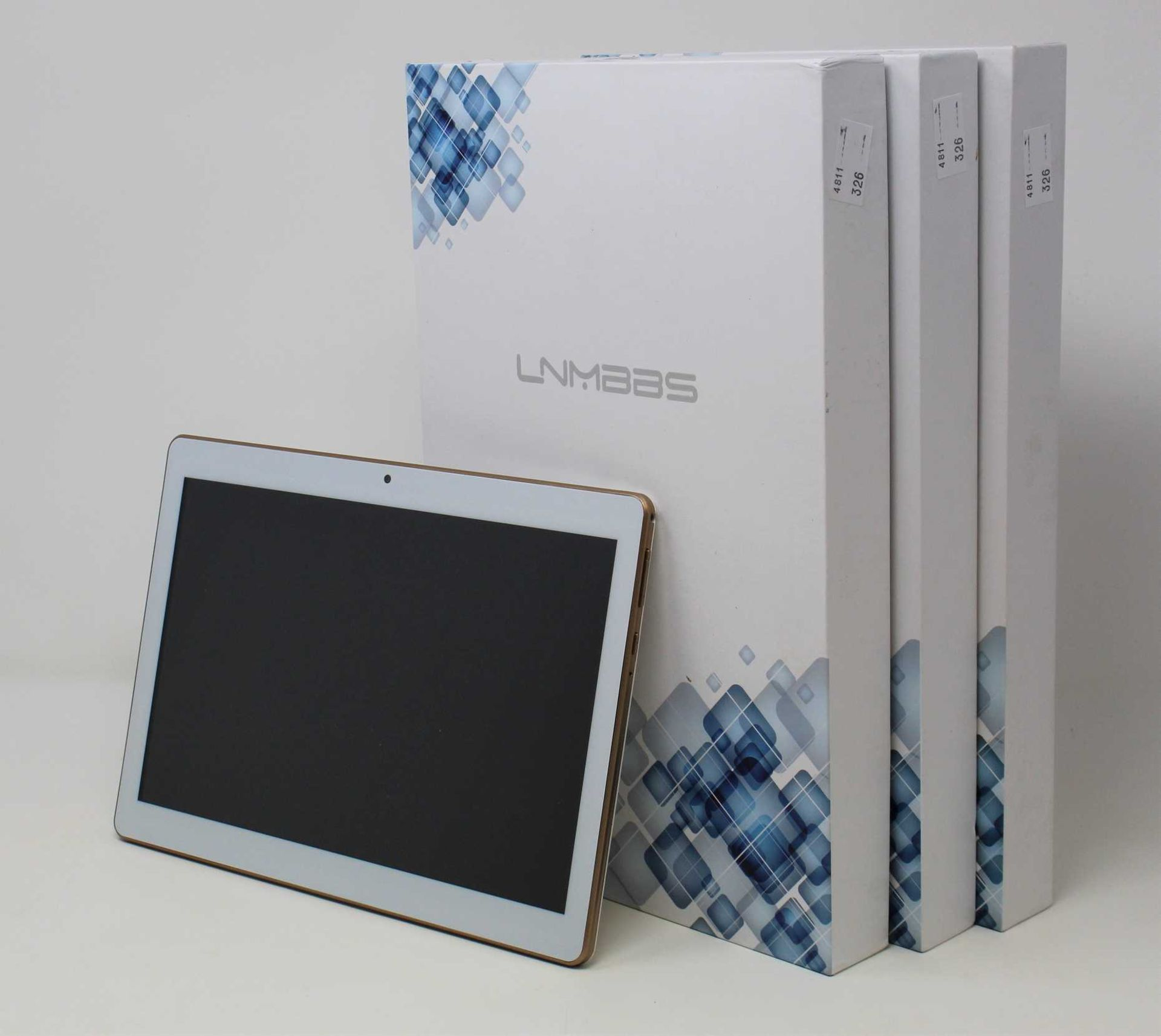 """SOLD FOR PARTS: A pre-owned LNMBBS K107 32GB Dual SIM 10.1"""" Android Tablet in Black (Faulty"""