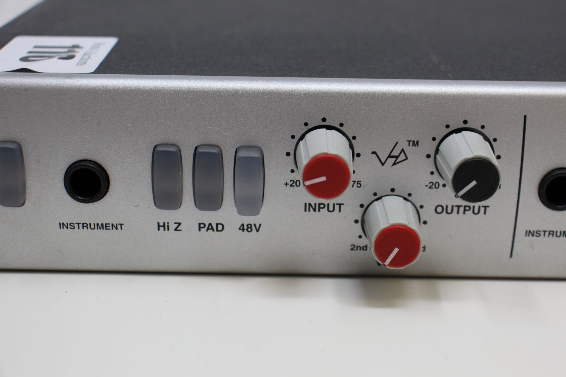 A pre-owned Solid State Logic XLogic Alpha VHD Pre 4-Channel Mic Preamp (Some damage. No power - Image 3 of 17