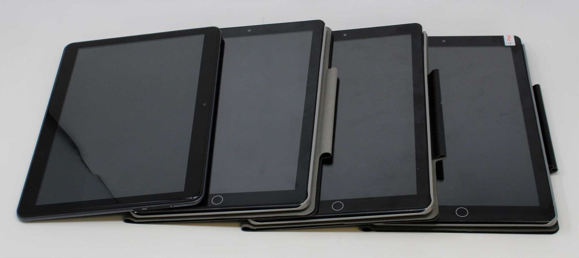"Four pre-owned Android Tablets; 2 x DuoDuogo 10.1"" 64GB in Black (Boxed with accessories) 1 x"
