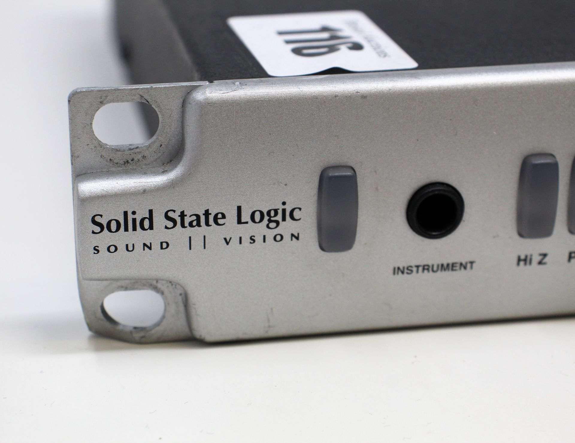A pre-owned Solid State Logic XLogic Alpha VHD Pre 4-Channel Mic Preamp (Some damage. No power - Image 2 of 17