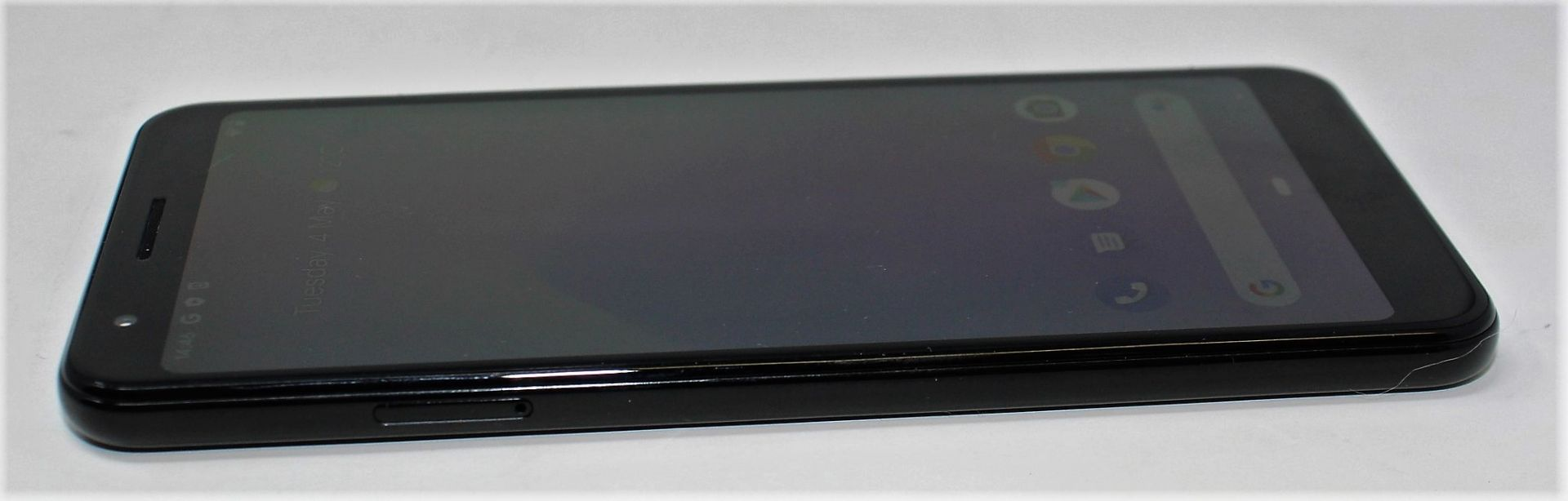 A pre-owned Google Pixel 3a G020G 64GB in Just Black (FRP clear) (Checkmend report ID: CM16922336- - Image 11 of 15