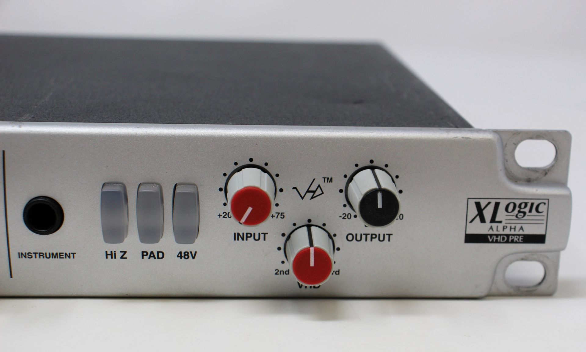 A pre-owned Solid State Logic XLogic Alpha VHD Pre 4-Channel Mic Preamp (Some damage. No power - Image 6 of 17