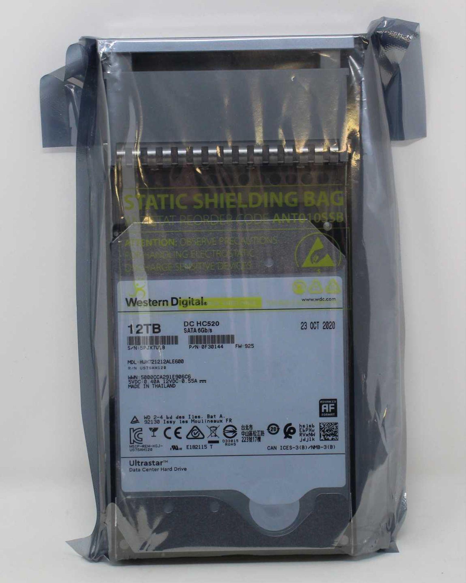 A boxed as new WD Ultrastar DC HC520 HDD 12TB 7.2K SATA 6Gb/s 256MB Data Center Internal Hard Disk