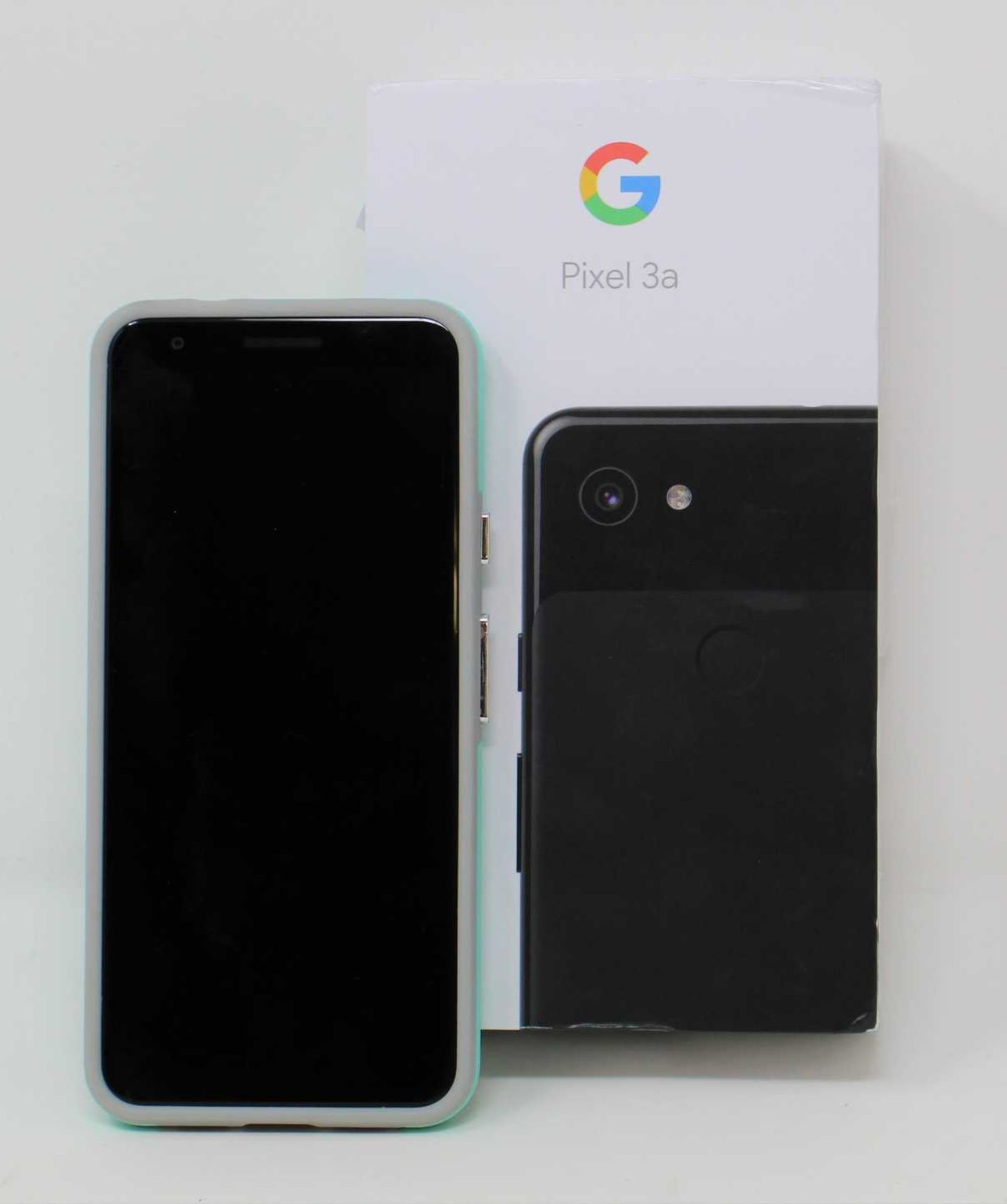 A pre-owned Google Pixel 3a G020G 64GB in Just Black (FRP clear) (Checkmend report ID: CM16922336- - Image 15 of 15