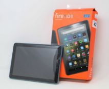 "SOLD FOR PARTS ONLY: An as new Amazon Fire HD 8"" 32GB Fire Tablet in Twilight Blue (Faulty- Cannot"
