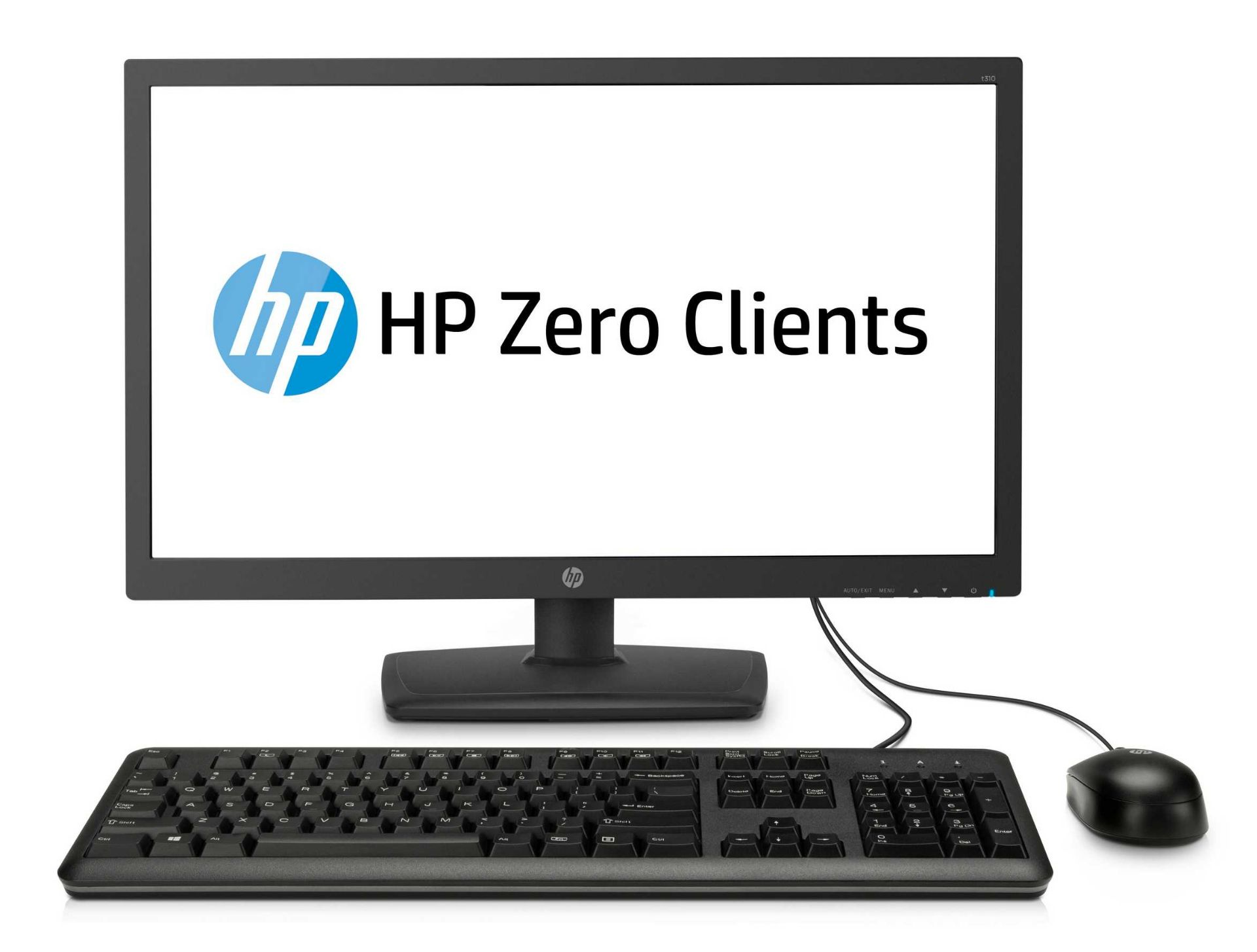 A boxed as new HP t310 G2 All-in-One Zero Client (No OS) (P/N: 3CN12AT#ABU Serial: CNV951B1BW) ( - Image 3 of 3